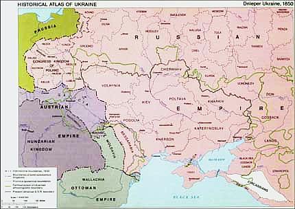 Dnieper ukraine 1850