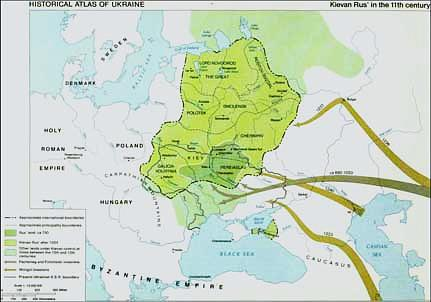 Kievan rus in the 11th century