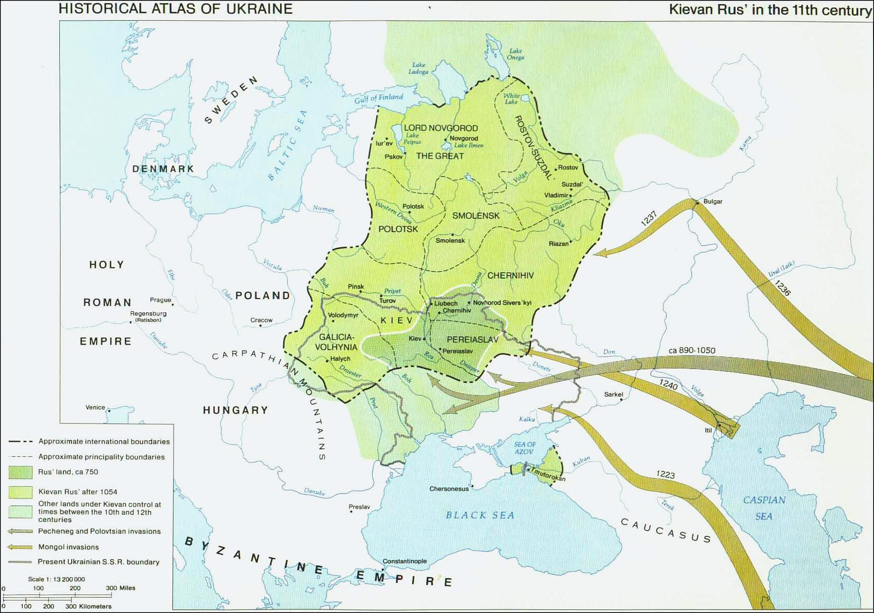 Kievan Rus In The Th Century - R us map